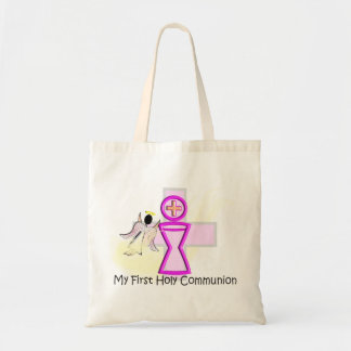 My First Holy Communion Chalice and Angel Tote Bag