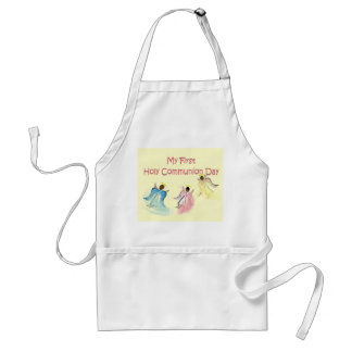 My First Holy Communion Day Adult Apron