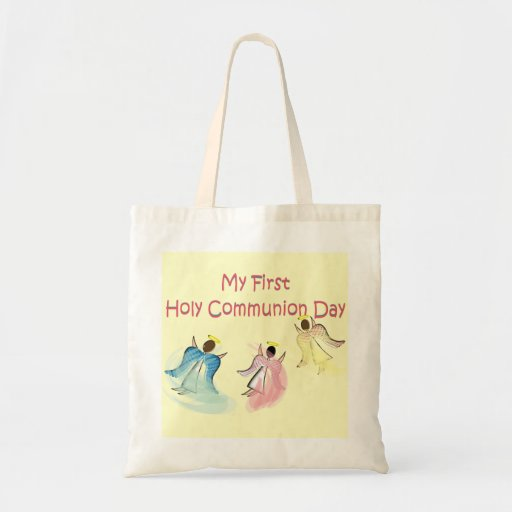 My First Holy Communion Day Canvas Bags
