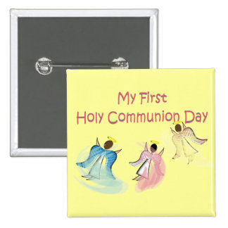 My First Holy Communion Day Gifts Pinback Button