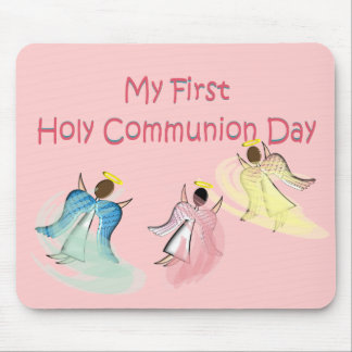 My First Holy Communion Day Mousepad