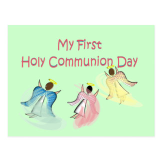 My First Holy Communion Day Postcards