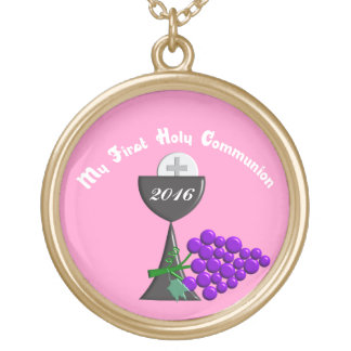 My First Holy Communion Girl's Pendant 2016