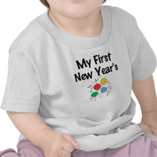 My First New Year's T-shirts