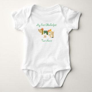 """My First Oktoberfest"" Baby Bodysuit"
