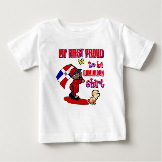 My First Proud To Be Dominican Republican Shirt