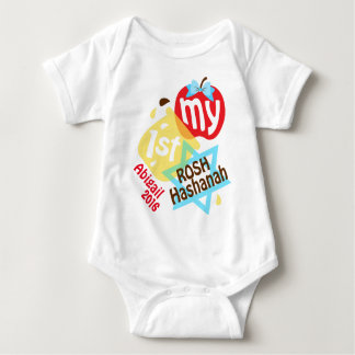 My First Rosh Hashanah Bodysuit for Baby Girl
