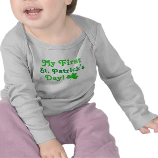 My First St Patrick s Day Baby T-Shirt