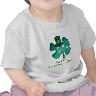 My First St Patrick s Day Shirt