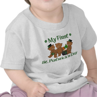 My First St. Patrick's Day T-shirt Tee Shirts