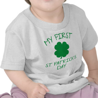 My First St. Patrick's Day Shirts