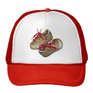 My first tennis shoes trucker hat