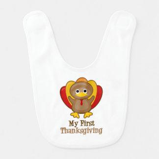 My First Thanksgiving Turkey Bib