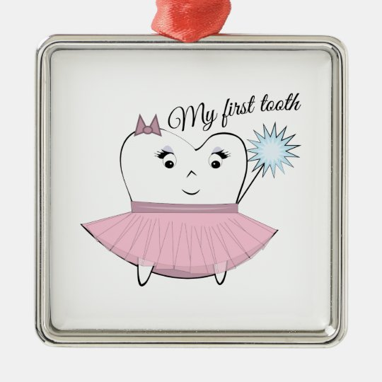 My First Tooth Christmas Ornament