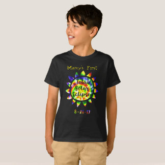 My First Total Solar Eclipse Tie Dye T-Shirt