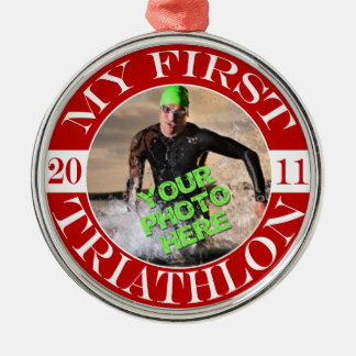 My First Triathlon - 2011 Christmas Ornament