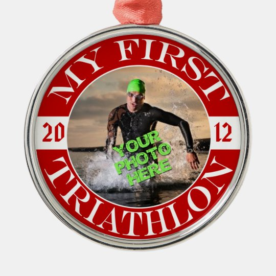 My First Triathlon - Customisable Photo and Year
