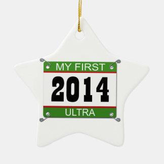 My First Ultra - 2014 Ceramic Star Decoration
