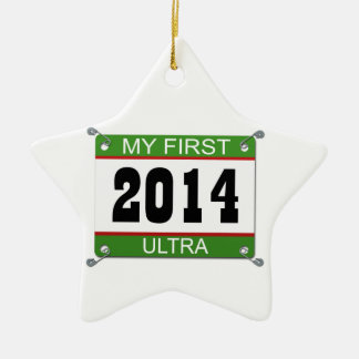 My First Ultra - 2014 Christmas Ornament