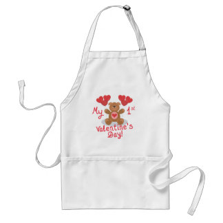 My First Valentines Day Standard Apron