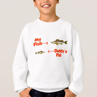 My fish daddy's fish sweatshirt