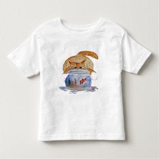 My Fishbowl, Meows Tiger Kitten T Shirt