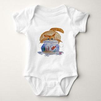 My Fishbowl, Meows Tiger Kitten Tee Shirt