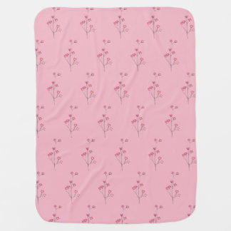 """MY FLOWER GIRL"" BABY BLANKET"