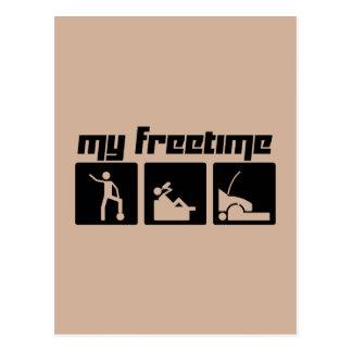 My freetime 2 postcard