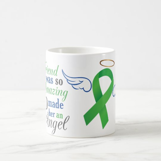 My Friend An Angel - Bile Duct Cancer Coffee Mug