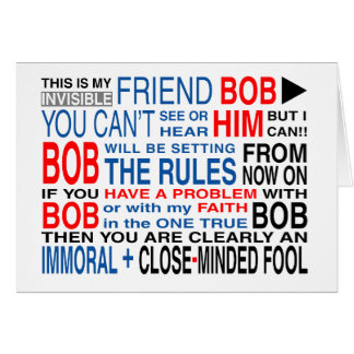 My Friend Bob Greeting Card
