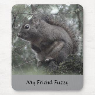 My Friend Fuzzy Mouse Pads
