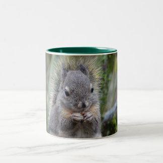 My Friend Fuzzy Two-Tone Mug