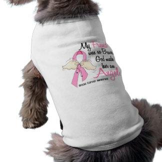My Friend Is An Angel 2 Breast Cancer Sleeveless Dog Shirt