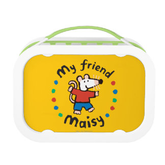 My Friend Maisy Colorful Circle Design Lunch Box