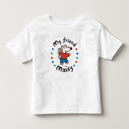 My Friend Maisy Colourful Circle Design Toddler T-Shirt