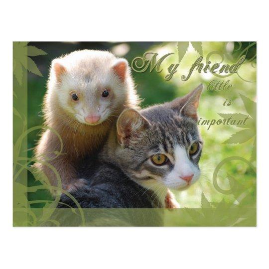 My Friend Postcard