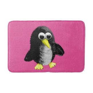 My friend the penguin bath mat