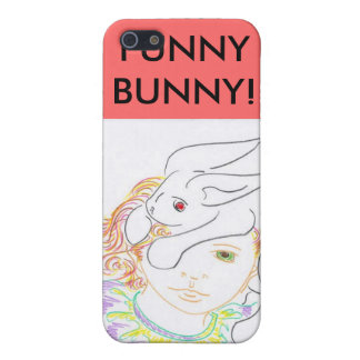 MY FUNNY BUNNY! iPhone 5/5S CASES