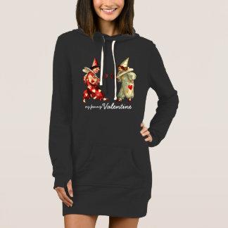 My Funny Valentine. Gift Hoodie Dress