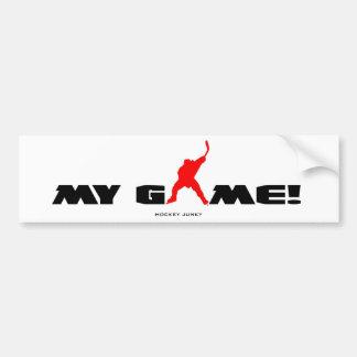 MY GAME! BUMPER STICKER