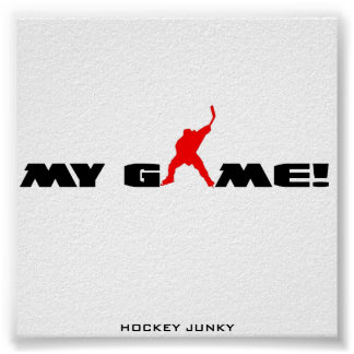 MY GAME! POSTER