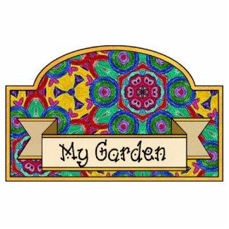 My Garden - Decorative Sign Photo Sculpture