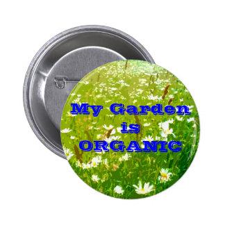 My Garden is ORGANIC button