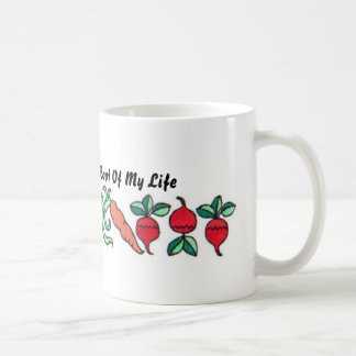 My Garden Is The Root Of My Life Basic White Mug