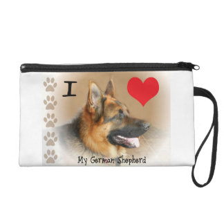 My German Shepherd Wristlet Purse