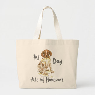 My German Shorthaired Pointer Ate My Homework Canvas Bag