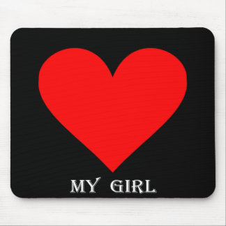 My Girl Mouse Pad
