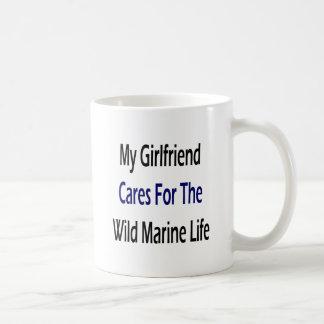 My Girlfriend Cares For The Wild Marine Life Mugs