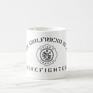 My Girlfriend Is A Firefighter Mug